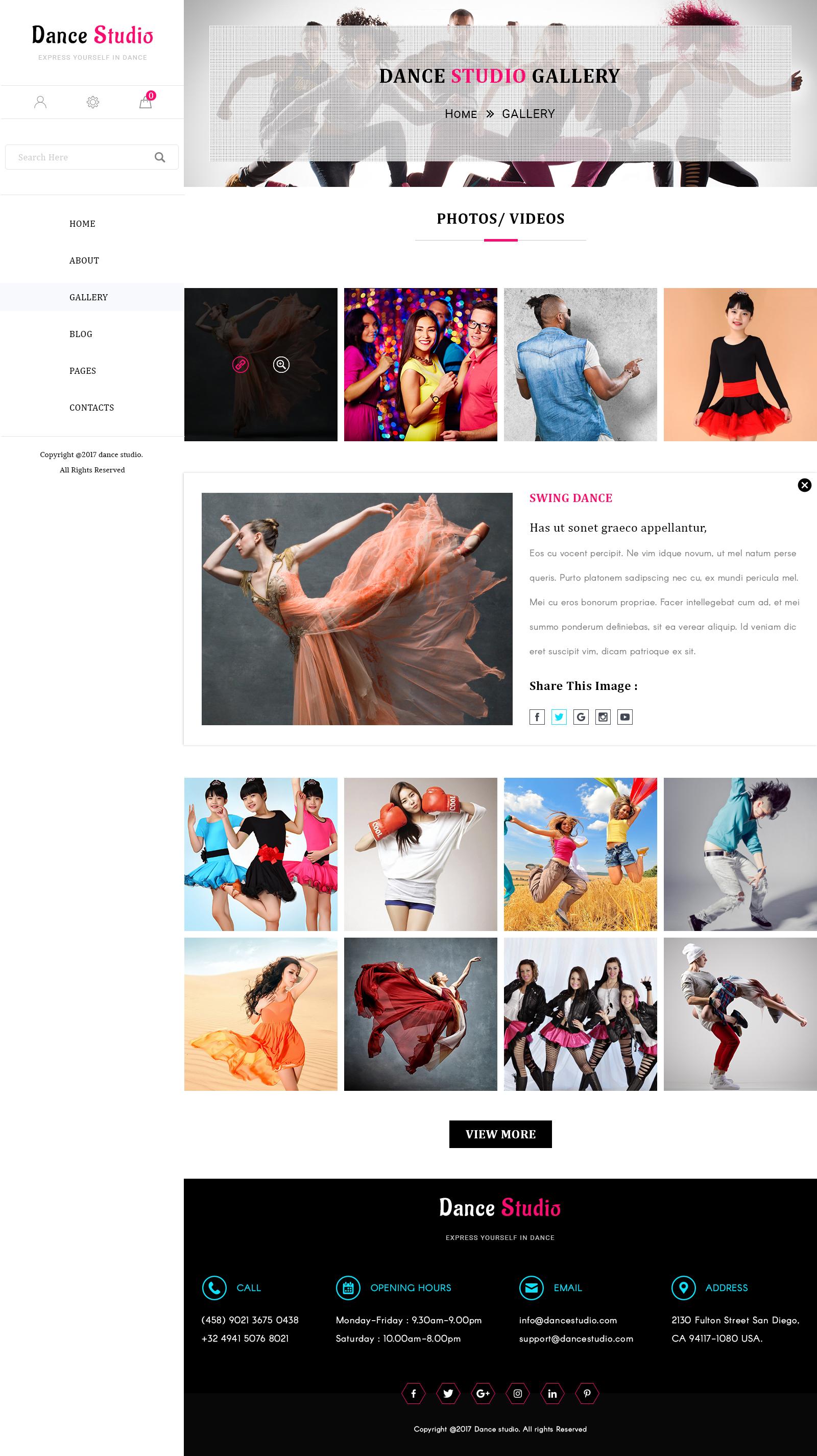 Dance Studio Design Images