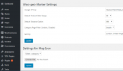 Woogeo Admin Map Settings
