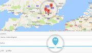Woogeo Dokan Sellers Map Search Page