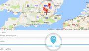 Woogeo Dokan Sellers Map Search Page