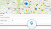 Woogeo Map Search Page