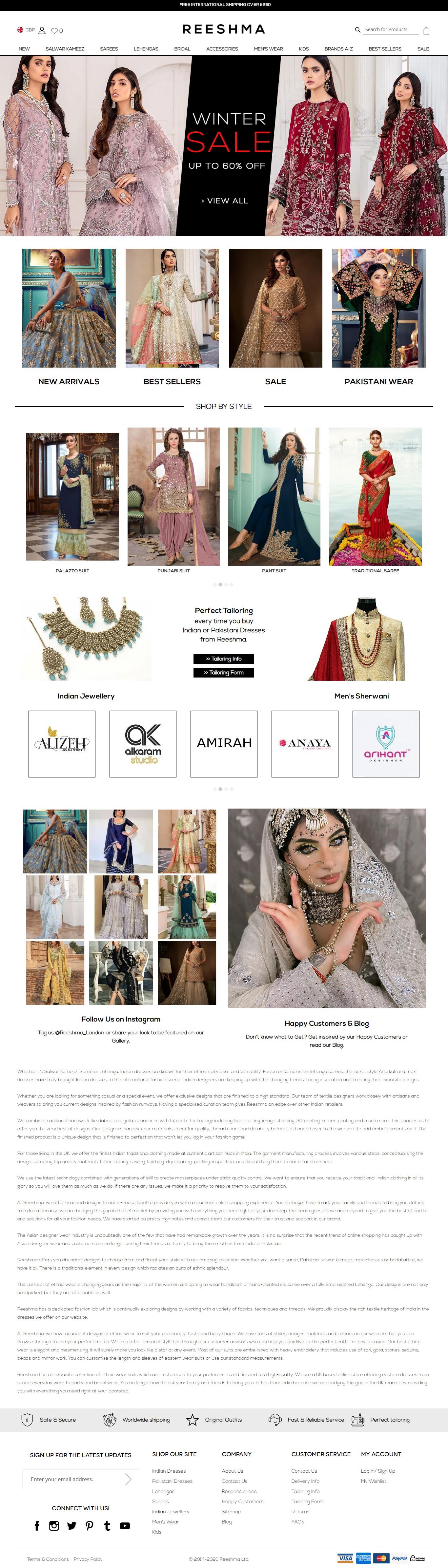 Buy Classic Indian Dresses & Asian Designer Wear Online